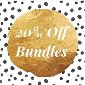 Other - 20% off bundles of 3+ items (at minimum!!!)